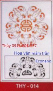Hoa văn mâm trần THY-014