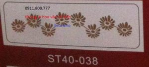 Khung in hoa văn cổ trần ST40-38