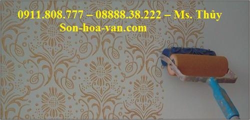 cach-son-hoa-van-tren-tuong-1