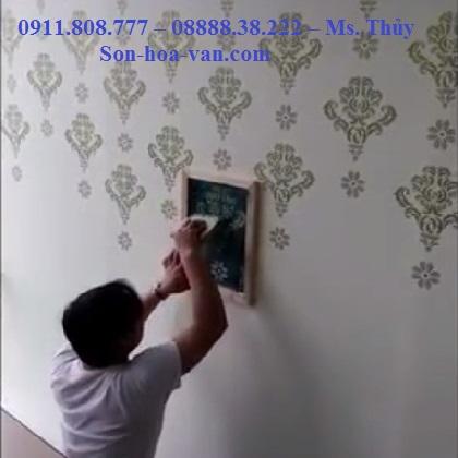 Thi công Giấy Dán Tường tại chung cư Căn hộ florita giá rẻ