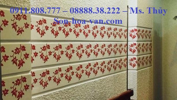 Nhận Thi công sơn hoa văn tại chung cư Thảo Điền Apartment giá rẻ