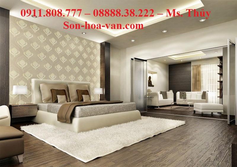Thi công Sơn Hoa Văn Trang Trí cho Khách Sạn Tại Quận 1