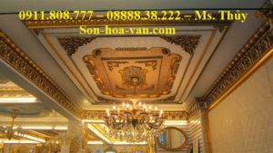 Thi công nội thất dát vàng tại tp hcm