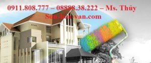Thi công sơn nước Quận Tân Phú Trọn gói