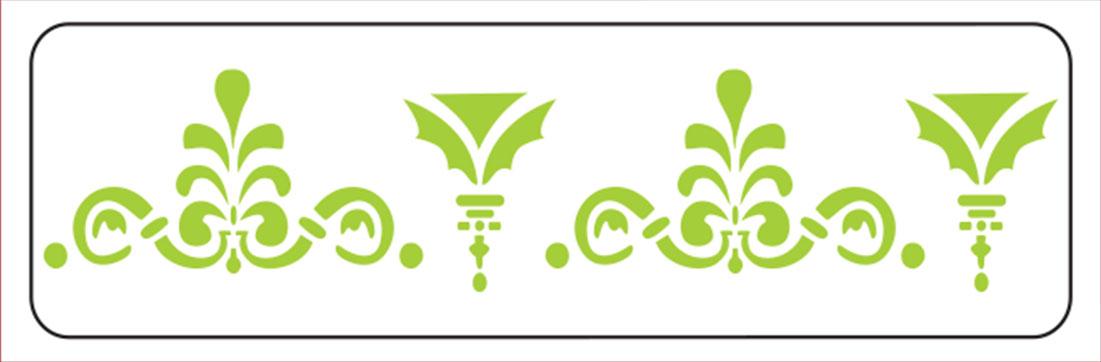 Khung in hoa văn cổ trần ST40-043