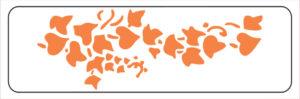 Khung in hoa văn cổ trần ST40-044