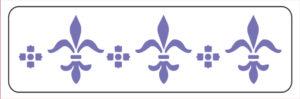 Khung in hoa văn cổ trần ST40-045
