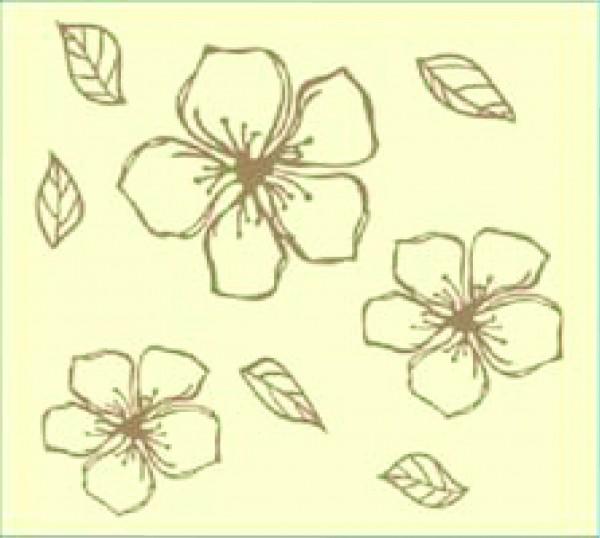 Khung in hoa văn khổ 60x60 WP-621