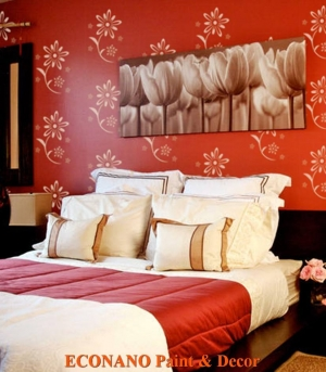 Sơn họa tiết lên tường tại tỉnh Bà Rịa Vũng Tàu
