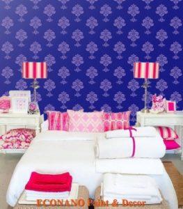Thi công Sơn Hoa Văn Trang Trí cho Khách Sạn Tại Quận 11