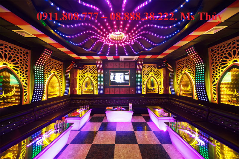 Báo giá thi công sơn tường nghệ thuật cho quán karaoke (sơn hoa văn) 2