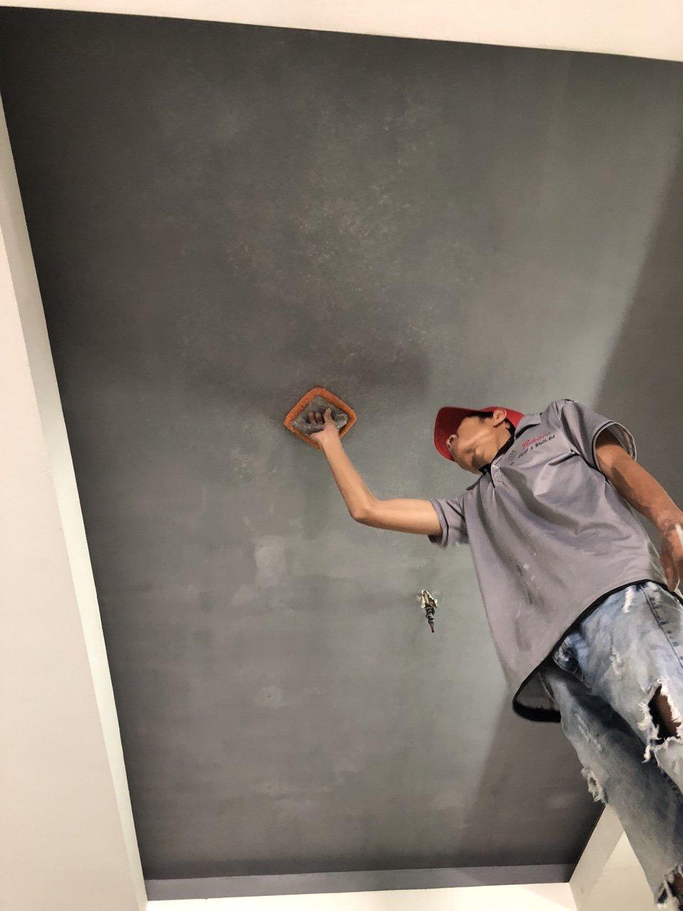 quy trình thi công sơn giả bê tông