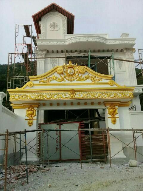 sơn nhũ vàng 24K Pukaco